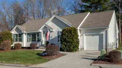 Hooksett Condo/Townhouse For Sale: 20 Cedar Street #12