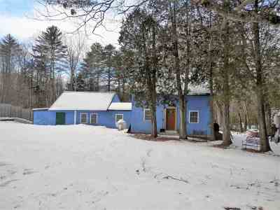 Thornton Single Family Home For Sale: 2403 Nh Rte 175 Road