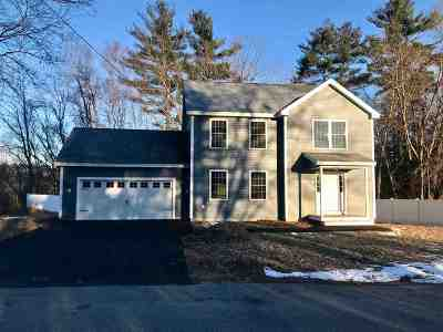 Goffstown Single Family Home Active Under Contract: 11 Aurel Drive