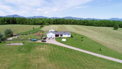 Orleans County Single Family Home For Sale: 1866 Vt 105 East Route