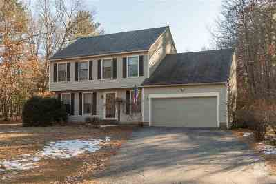 Merrimack Single Family Home For Sale: 17 Parkhurst Road