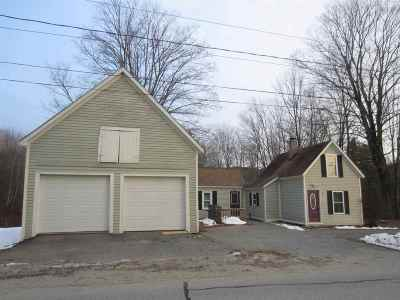 Dunbarton Single Family Home Active Under Contract: 1184 Gorham Pond Road