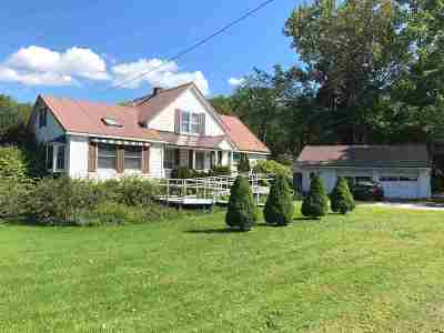 Rutland City VT Single Family Home For Sale: $445,000