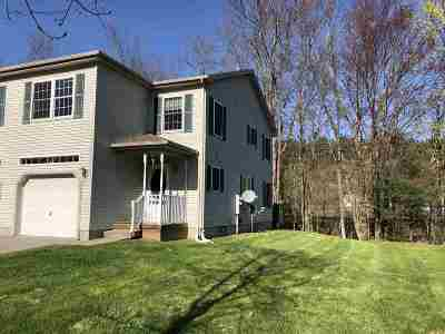 Chittenden County Condo/Townhouse For Sale: 13 Aurora Lane