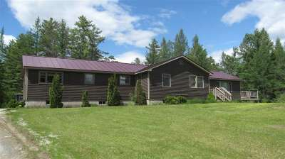 Caledonia County Single Family Home For Sale: 44 Cross Road