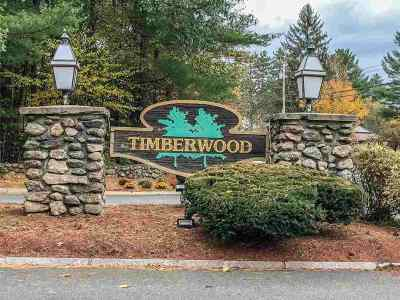 Goffstown Condo/Townhouse Active Under Contract: 3 Timberwood Drive #203
