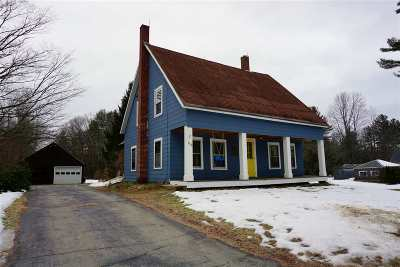 Weare Single Family Home For Sale: 139 Center Road