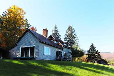 Johnson VT Single Family Home For Sale: $999,000