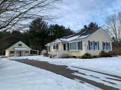 Campton Single Family Home For Sale: 1359 Nh Rte 175