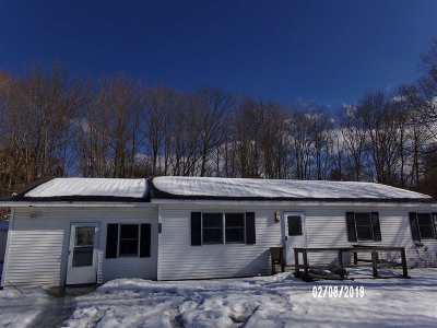 Castleton Single Family Home For Sale: 3840 Route 30 North