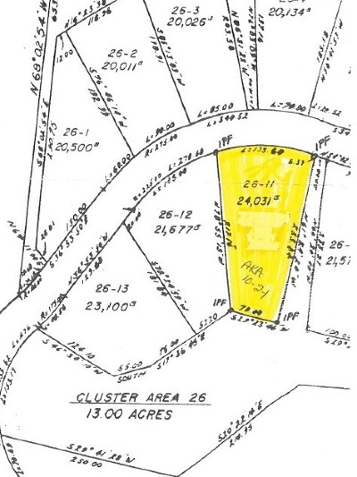 Campton Residential Lots & Land For Sale: 26-11 Brambleberry Road