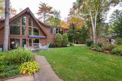 Moultonborough Single Family Home For Sale: 330 Castle Shore Road