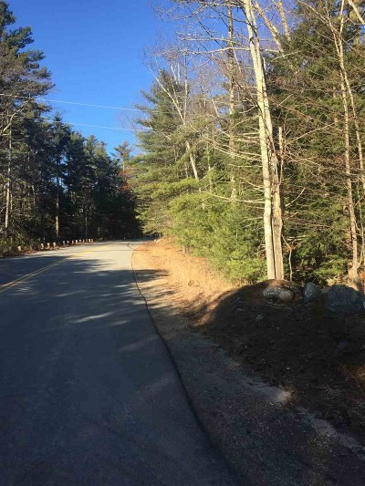 Moultonborough Residential Lots & Land Active Under Contract: Lot 2 Long Island Road
