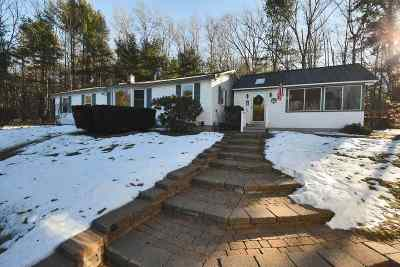 Gilford Single Family Home Active Under Contract: 121 Old Lake Shore Road