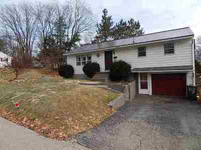 Rutland City VT Single Family Home For Sale: $145,000