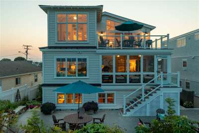 Seabrook Single Family Home For Sale: 167 Ocean Drive Road