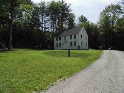 Hopkinton Single Family Home Active Under Contract: 622 Rollins Road