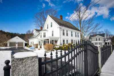 Campton Single Family Home Active Under Contract: 1357 Nh Route 175
