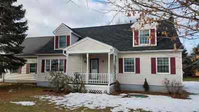 Swanton Single Family Home For Sale: 2181 Sheldon Road