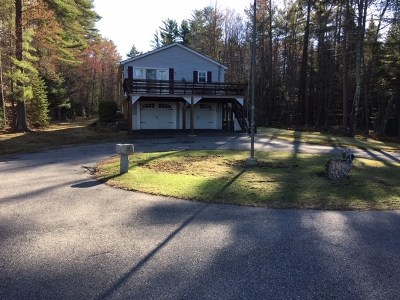 Tuftonboro Single Family Home For Sale: 301 Governor Wentworth Highway