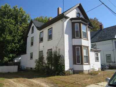 Rochester Multi Family Home For Sale: 10 Silver Street