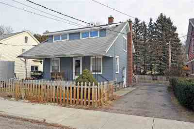 Chittenden County Single Family Home Active Under Contract: 133 North Street