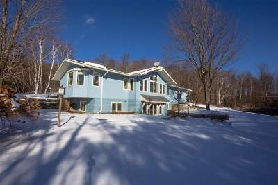 Chittenden County Single Family Home Active Under Contract: 34 Foothills Drive
