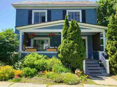 Chittenden County Single Family Home For Sale: 33 N Williams Street