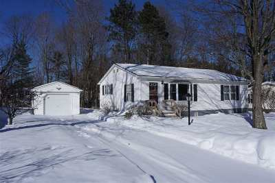 Chittenden County Single Family Home For Sale: 503 Gullybrook Road