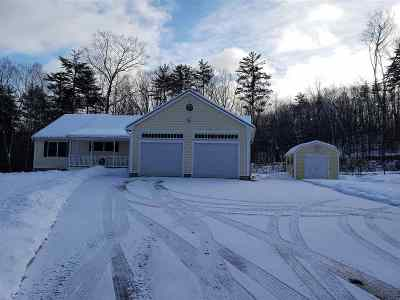 Belknap County Single Family Home Active Under Contract: 314 Powder Mill Road