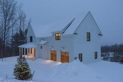 Stowe Single Family Home For Sale: 55 Benjamin Trail Drive