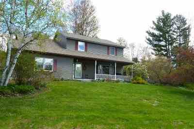 Rutland City VT Single Family Home For Sale: $260,000