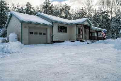 Belknap County Single Family Home For Sale: 65 Prescott Road