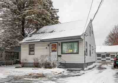 Chittenden County Single Family Home For Sale: 1460 North Avenue