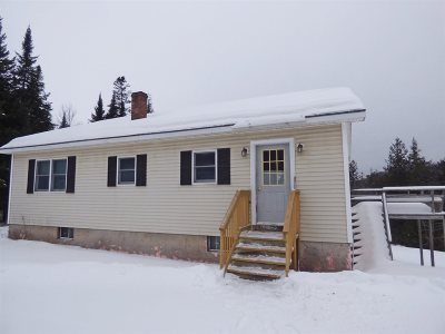 Caledonia County Single Family Home For Sale: 197 Houghton Bridge Road