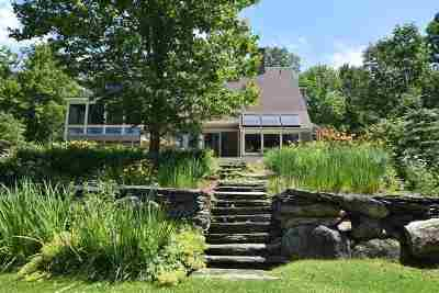 Shrewsbury Single Family Home For Sale: 1049h Upper Cold River Road