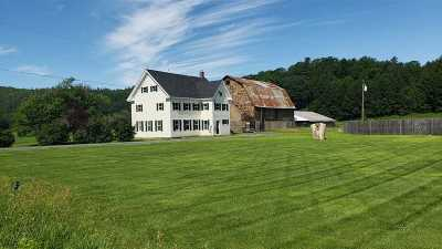 Fairlee Single Family Home Active Under Contract: 1671 Vt Route 5 North