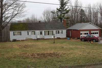 Richford Single Family Home For Sale: 278 Golf Course Road