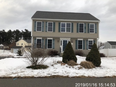Belknap County, Carroll County, Cheshire County, Coos County, Grafton County, Hillsborough County, Merrimack County, Rockingham County, Strafford County, Sullivan County Single Family Home For Auction: 8 Amy Way