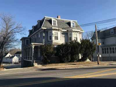Strafford County Multi Family Home For Sale: 195 Central Avenue