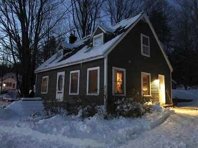 Hanover NH Single Family Home Active Under Contract: $399,000