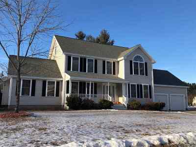 Strafford County Single Family Home For Sale: 73 Hickory Lane