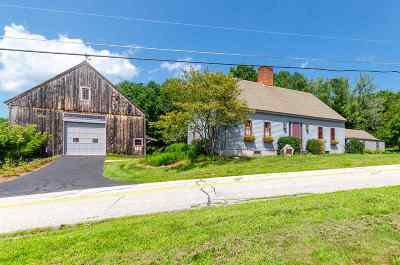 Amherst Single Family Home Active Under Contract: 114 Horace Greeley Road