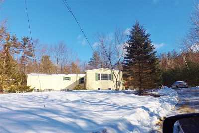 Merrimack County Single Family Home For Sale: 2149 Western Avenue Avenue