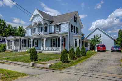 Merrimack County Multi Family Home For Sale: 337 Pembroke Street
