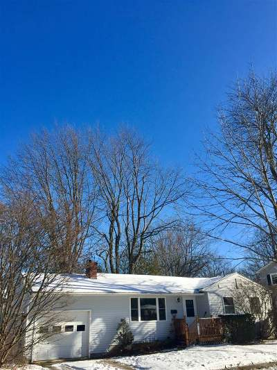 Chittenden County Single Family Home For Sale: 163 Pleasant Avenue