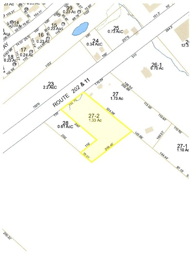 Strafford County Residential Lots & Land For Sale: Highland St. (Lot 107-27-2)