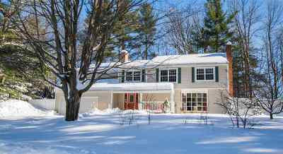Shelburne Single Family Home Active Under Contract: 107 Woodbine Road