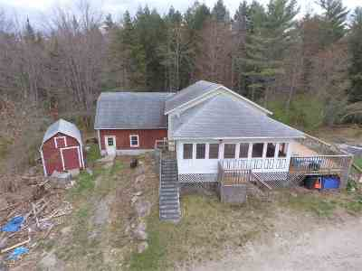 Single Family Home For Sale: 973 Us Route 4