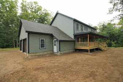 Thornton Single Family Home For Sale: 1831 Nh Rte 175 Route